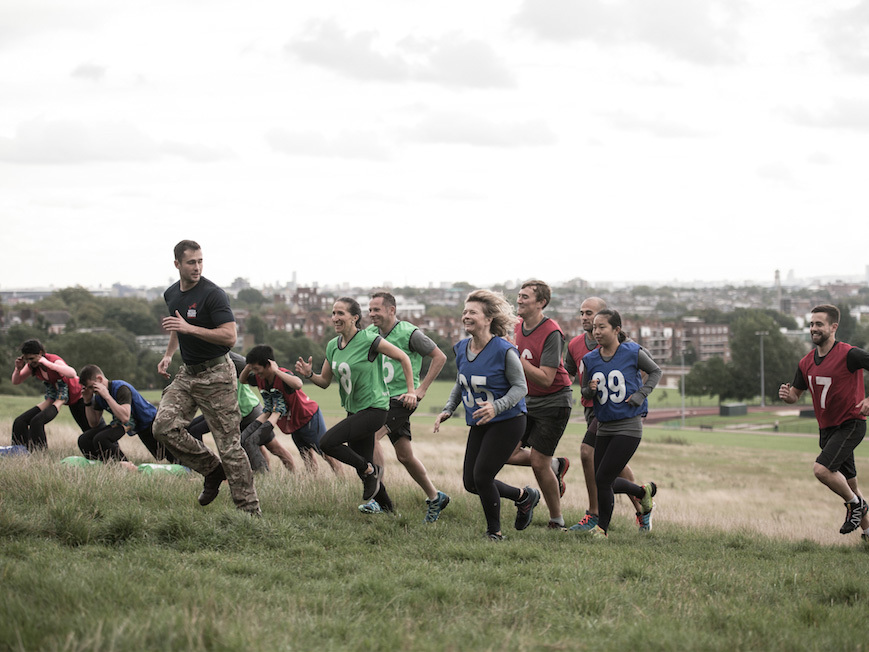 London's alternative fitness classes, british military fitness