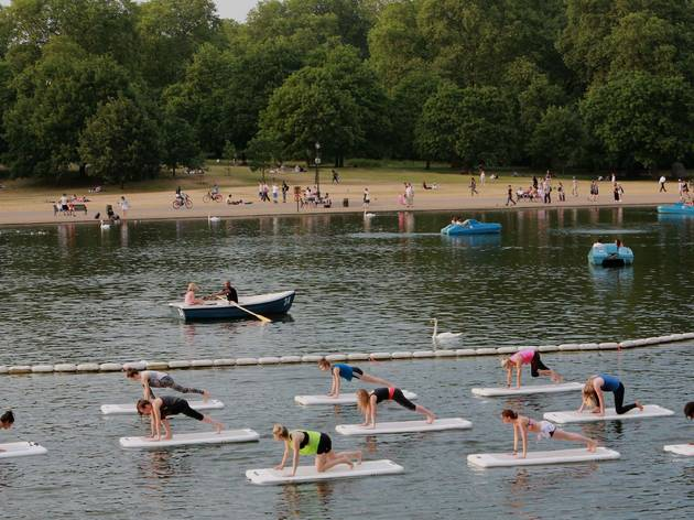 London's alternative fitness classes, float fit