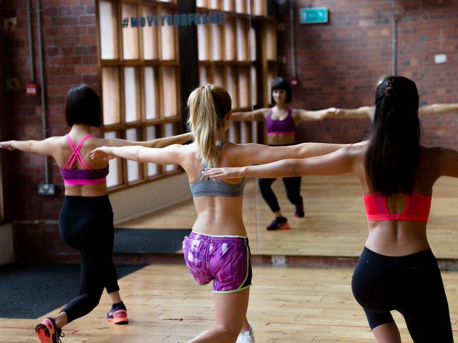 London's alternative fitness classes, frame