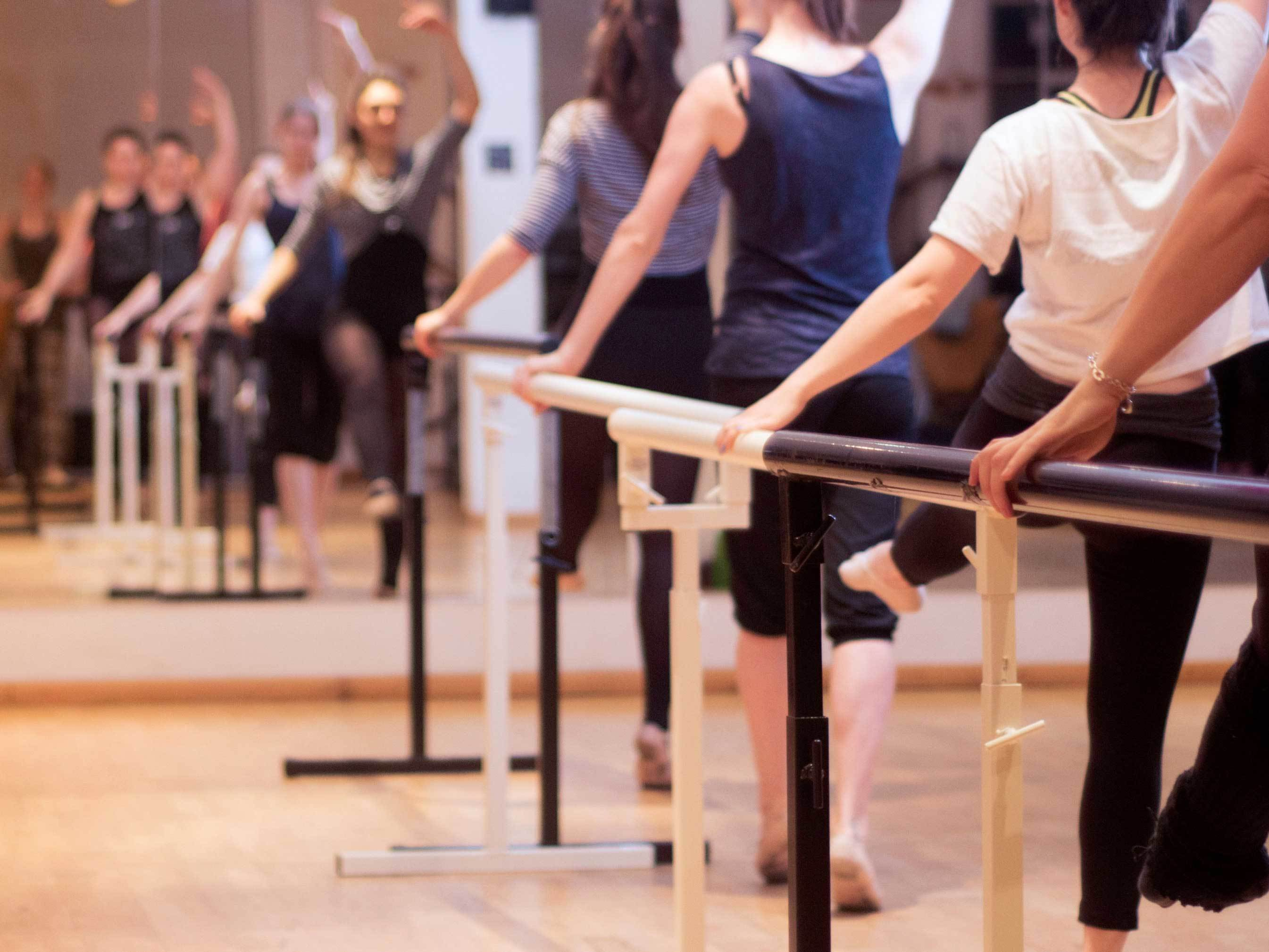 The best dance classes in London, ballet fusion at the factory