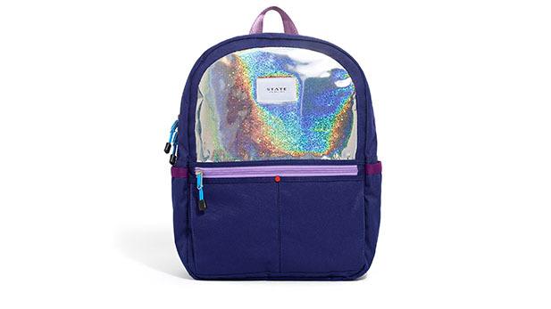 Kane backpack (Purple Sparkle)