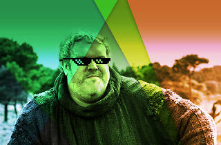 Rave of Thrones – Hodor with sunnies on