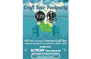 Craft Beer Pool Party