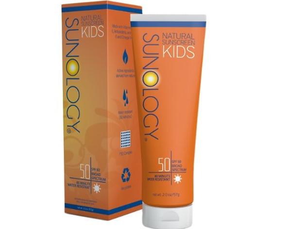 Sunology Natural Sunscreen, Kids, SPF 50