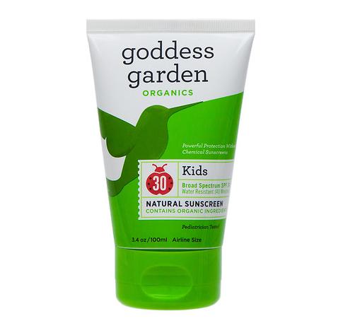 Goddess Garden Kids Sport Natural Sunscreen Lotion, SPF 30