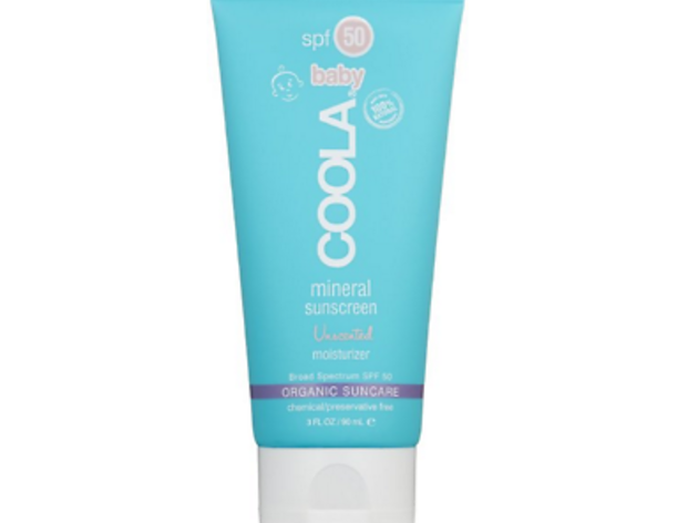 COOLA Suncare Baby Mineral Sunscreen Unscented Moisturizer, SPF 50