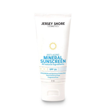 Jersey Kids Mineral Sunscreen Lotion, SPF 30
