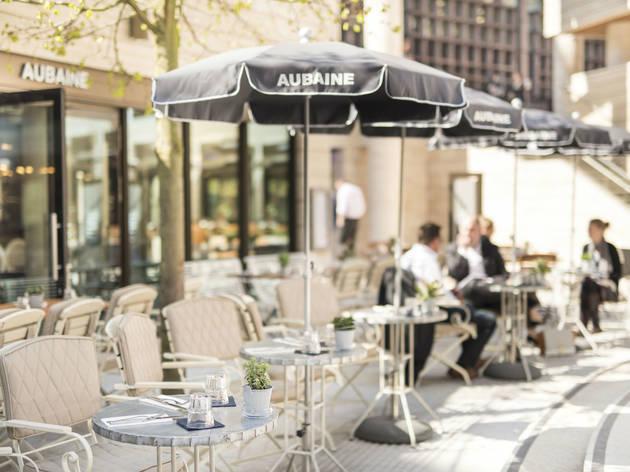 Outdoor Dining - Aubaine Broadgate