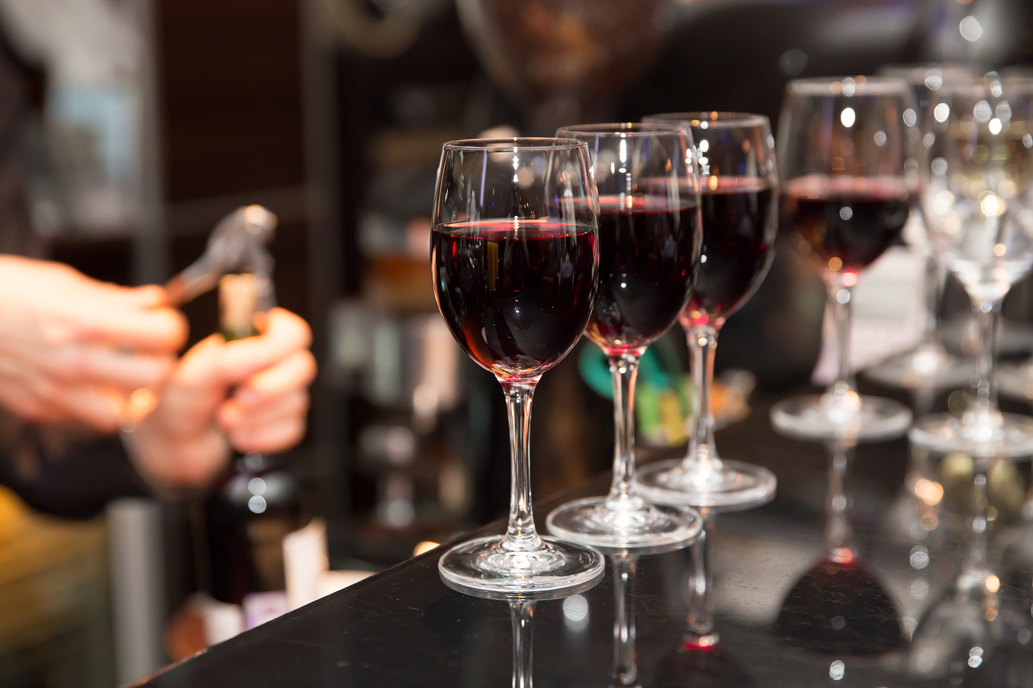 Challenge yourselves to a blind wine tasting