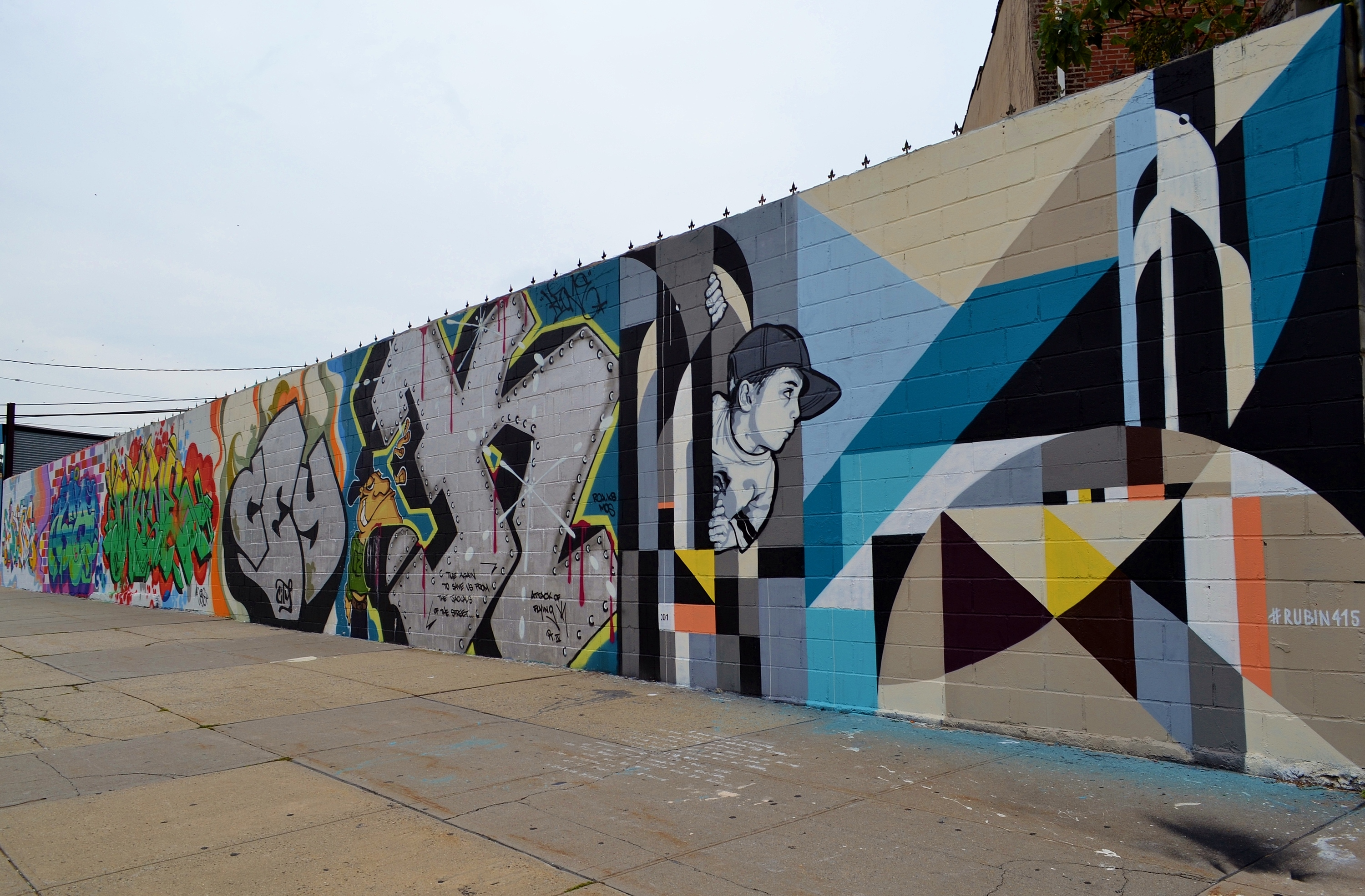 Check out cool street art from the 7th Annual Welling Court Mural Project in Queens