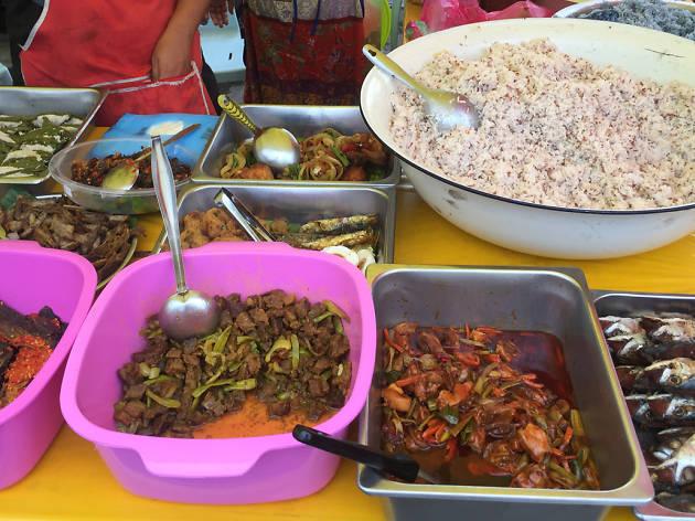Kampung Baru nasi dagang ramadhan
