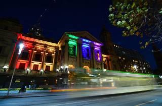 Victoria's show of solidarity for Orlando