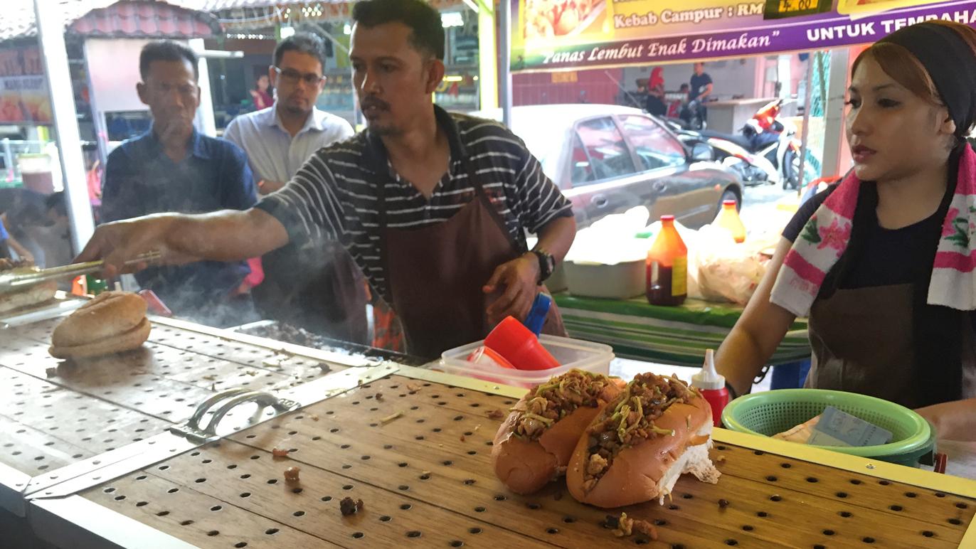 Kg baru kebab kukus ramadhan