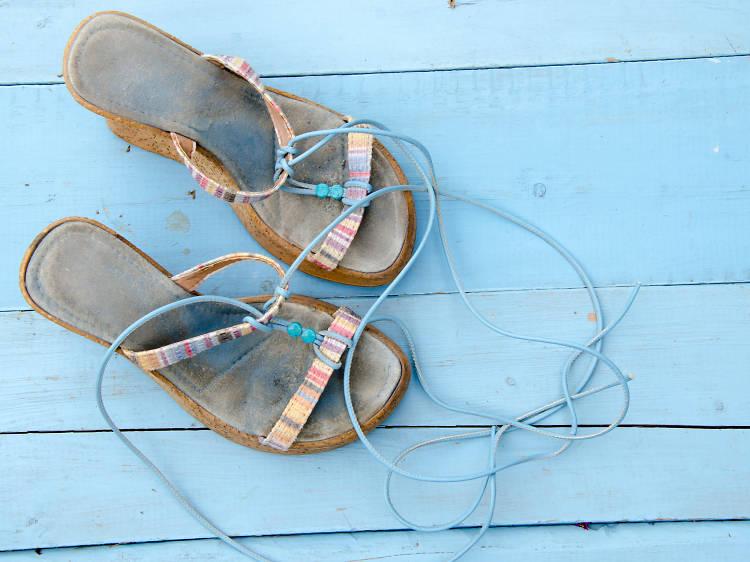 Des sandalettes bien chouettes