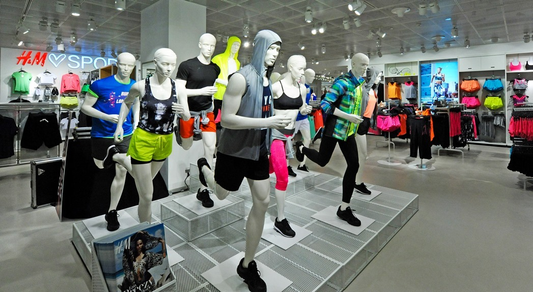 H&M Sports and Forever 21