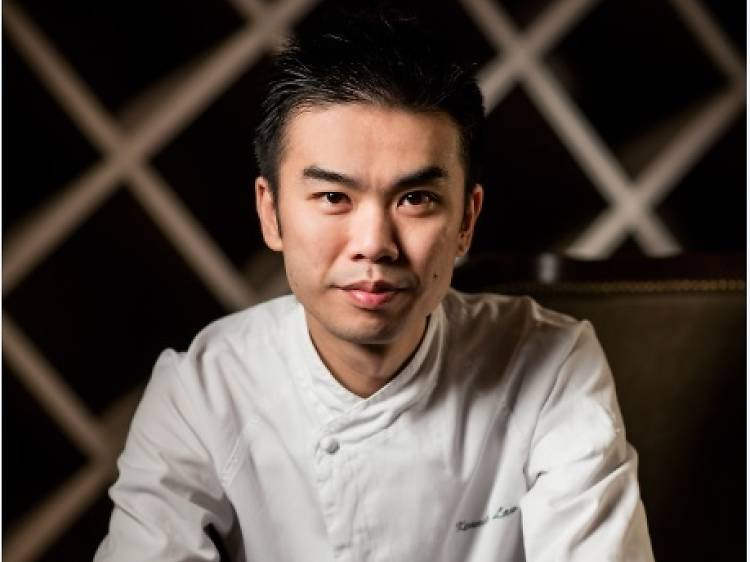 Kenneth Law, executive chef at Bi Ying