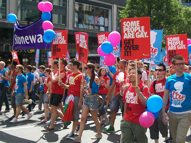 Stonewall at Pride London 2010