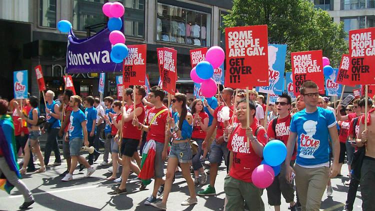 Stonewall at Pride London 2010