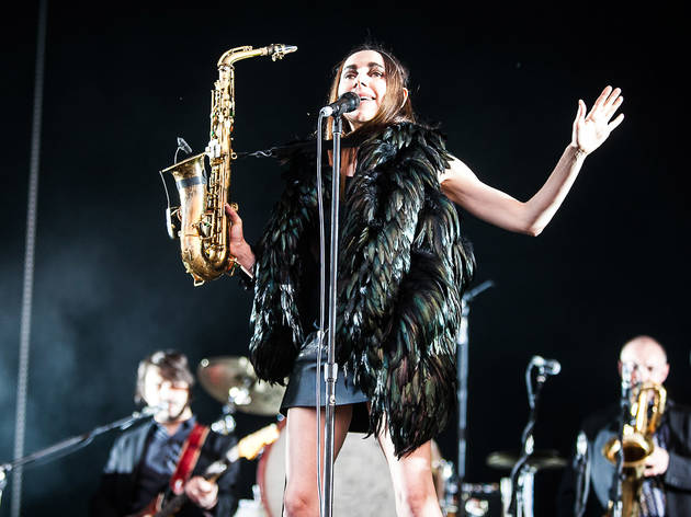 PJ Harvey at Field Day