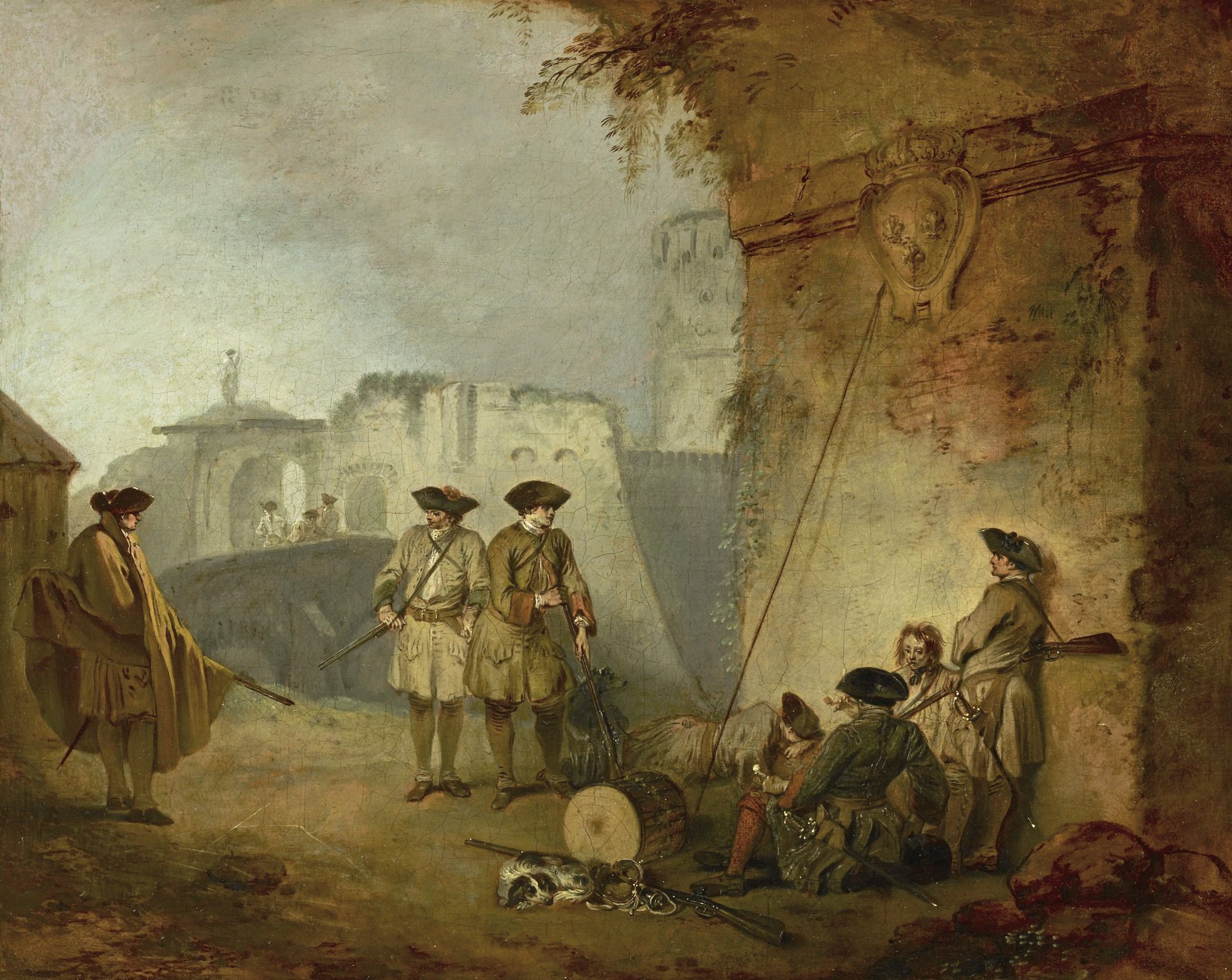 """Watteau's Soldiers: Scenes of Military Life in Eighteenth-Century France"""