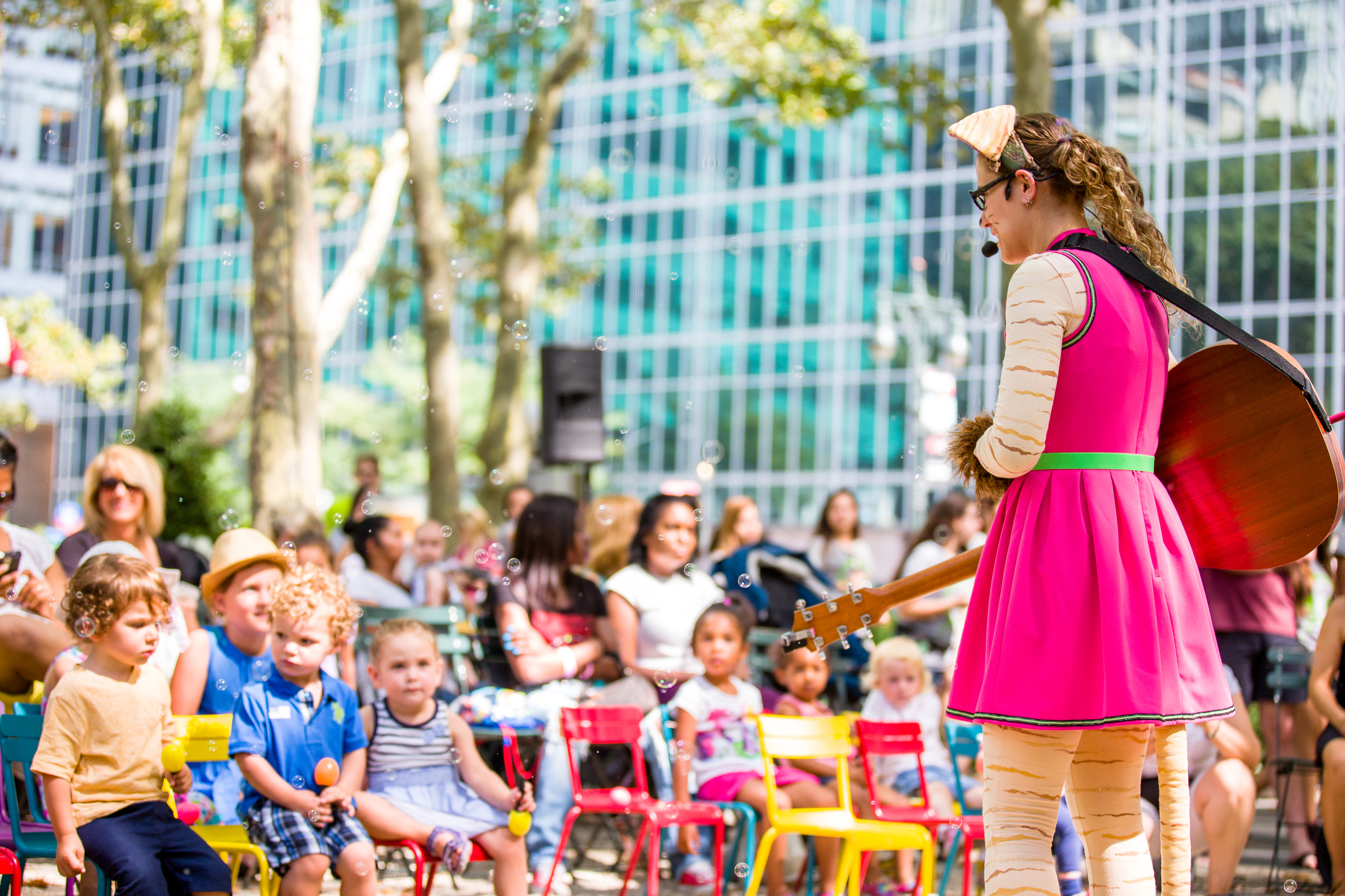 Bryant Park Reading Room Summer Events