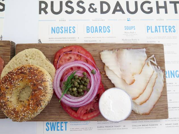 Russ & Daughters Cafe in New York