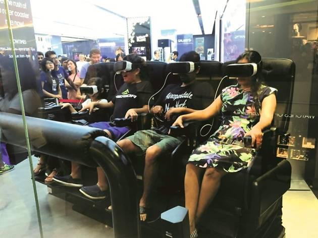 4d vr experience at samsung