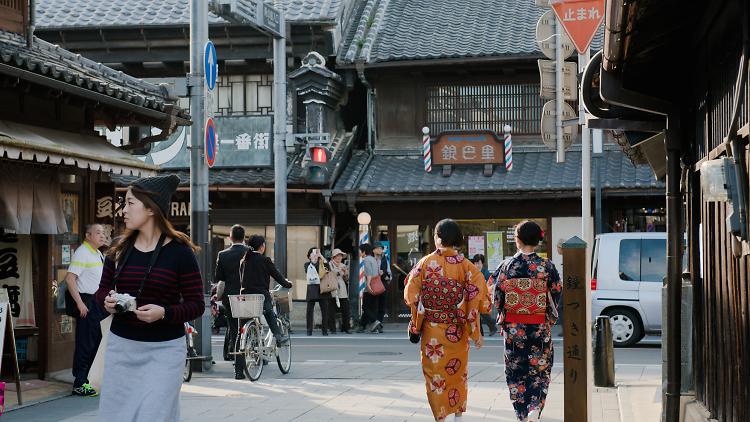 埼玉の大自然と小江戸を探索する。