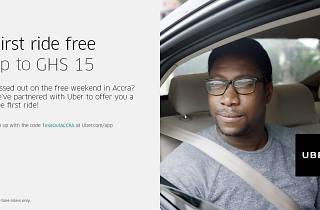 Uber arrives in Accra