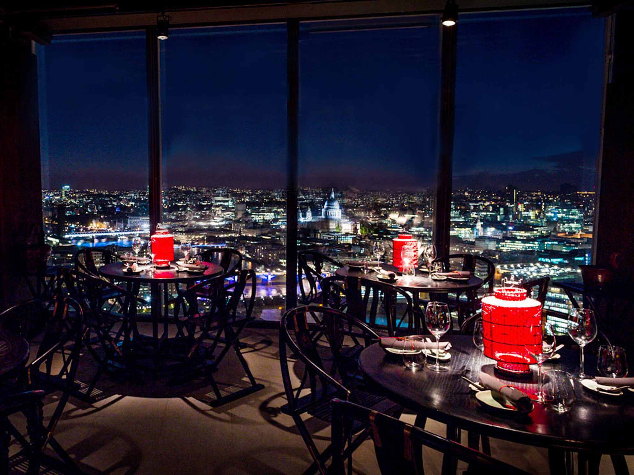 best restaurants with a view in london, hutong at the shard