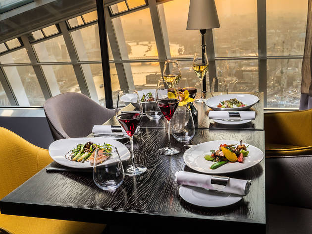 best restaurants in london with a view, Fenchurch at Sky Garden