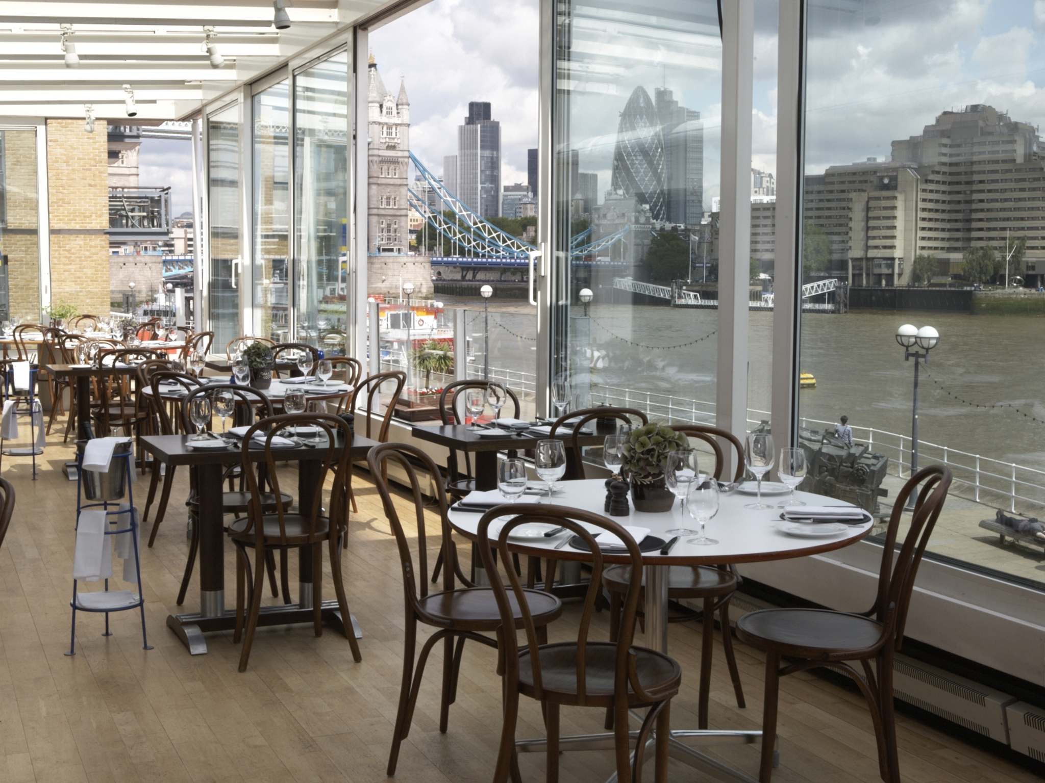Restaurants with the best views in london time out london blueprint caf malvernweather Choice Image