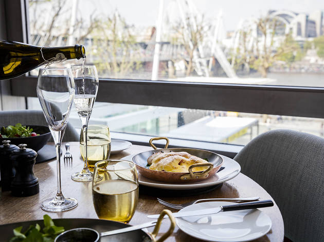 best restaurants with a view in london, skylon