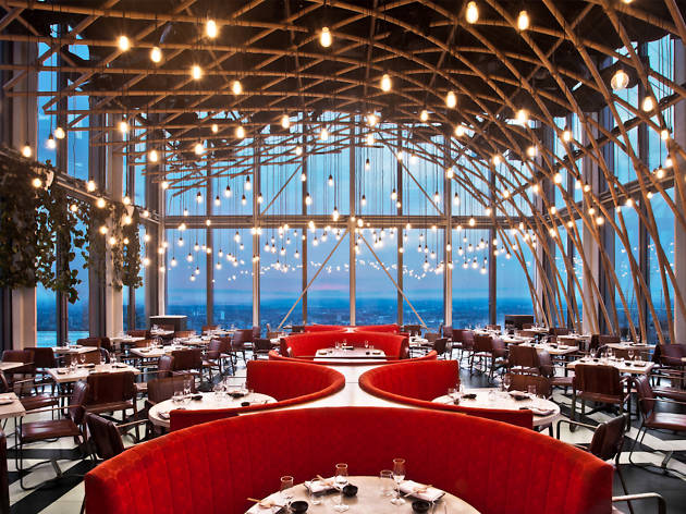best restaurants with views in london, sushisamba