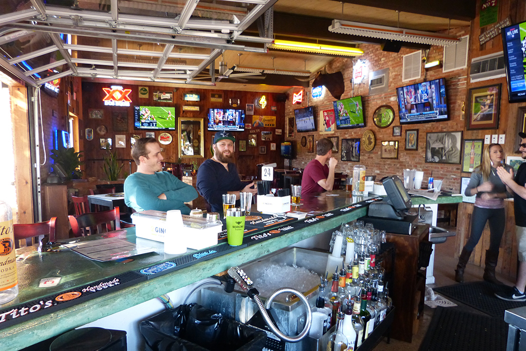 Great sports bars in Austin