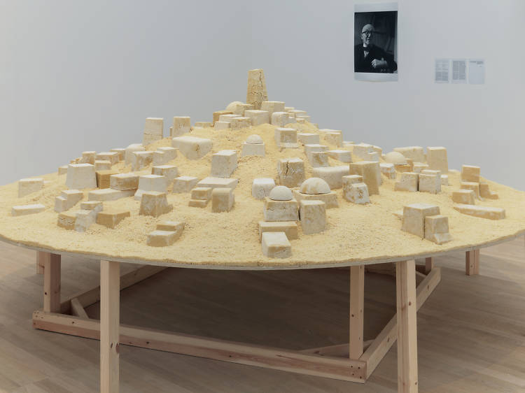 A town made of couscous