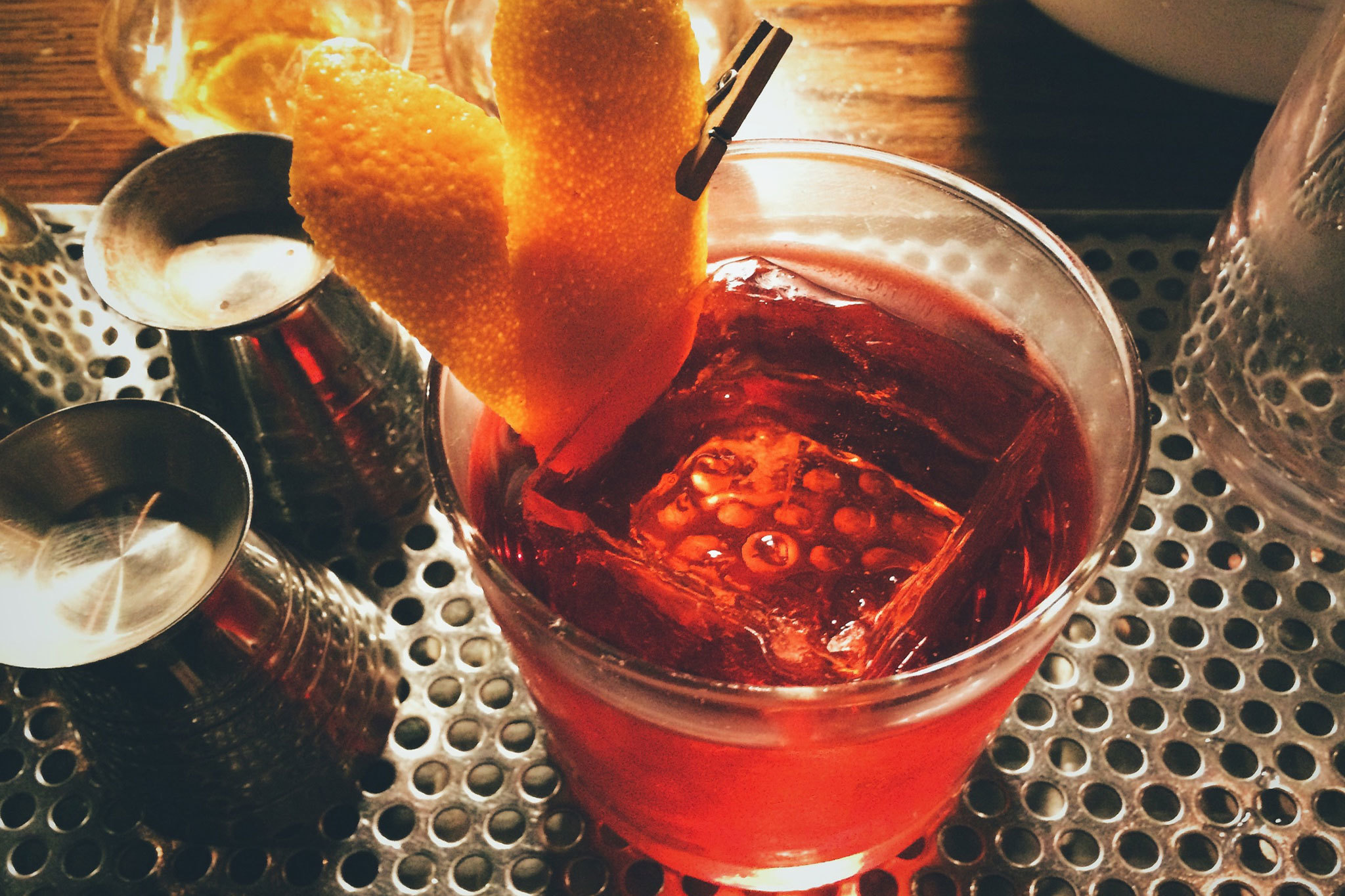 The Corner Door negroni