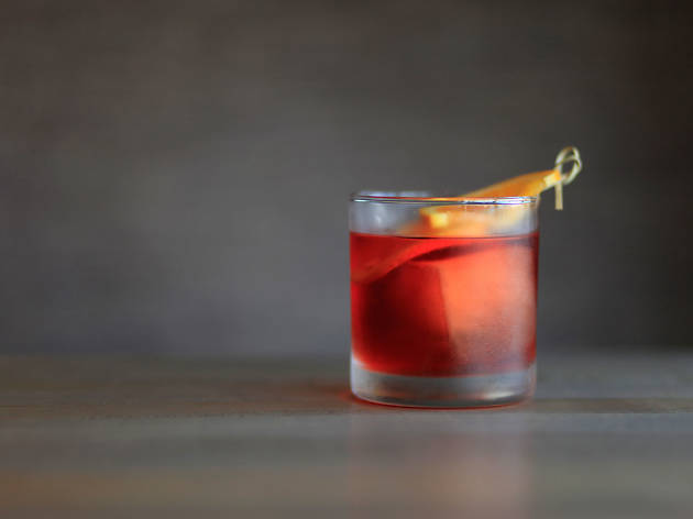 Negroni at Love & Salt