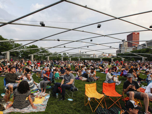 You won't be able to bring your own alcohol to six Millennium Park events this summer