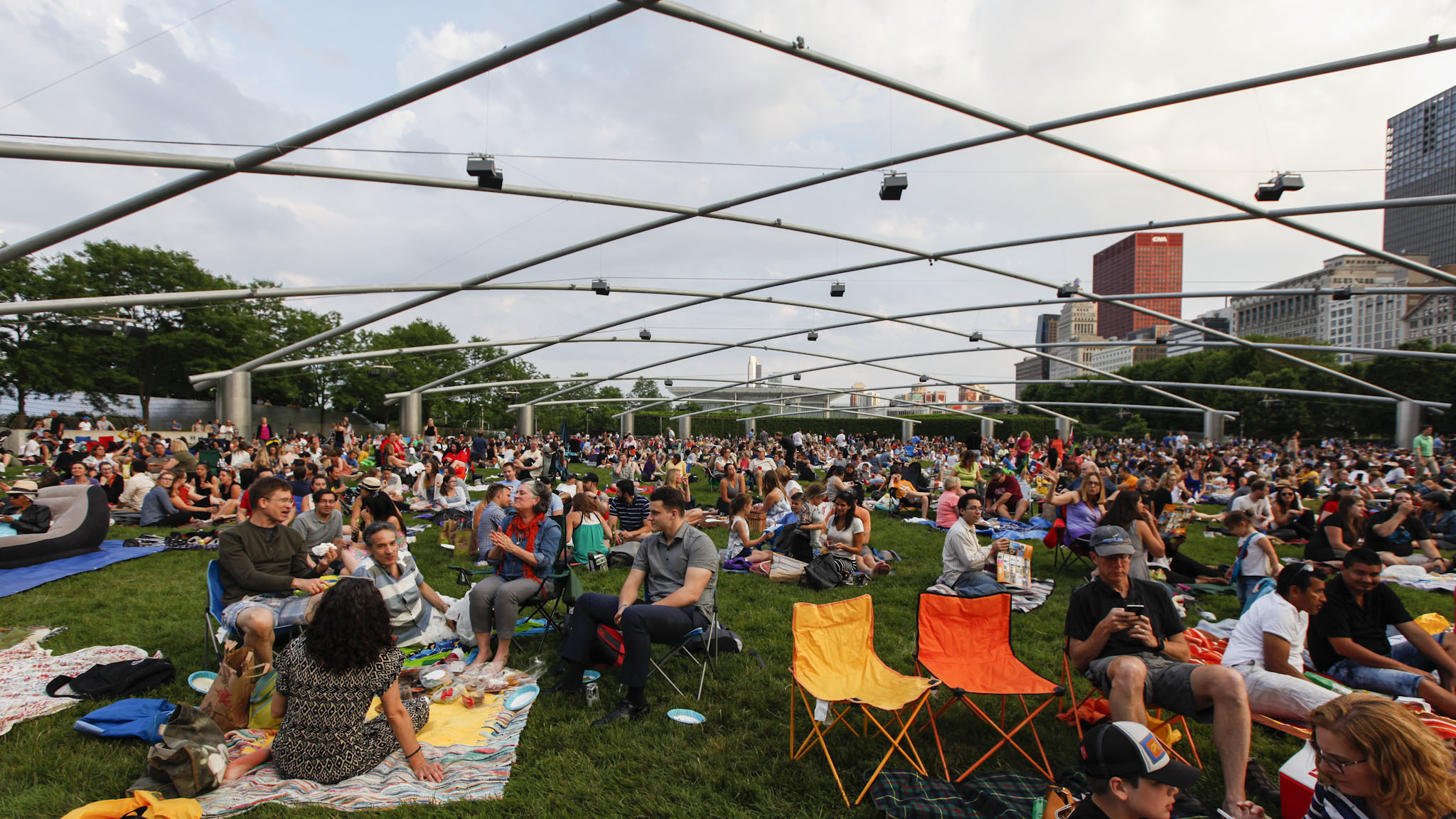 You won't be able to bring your own alcohol to seven Millennium Park events this summer