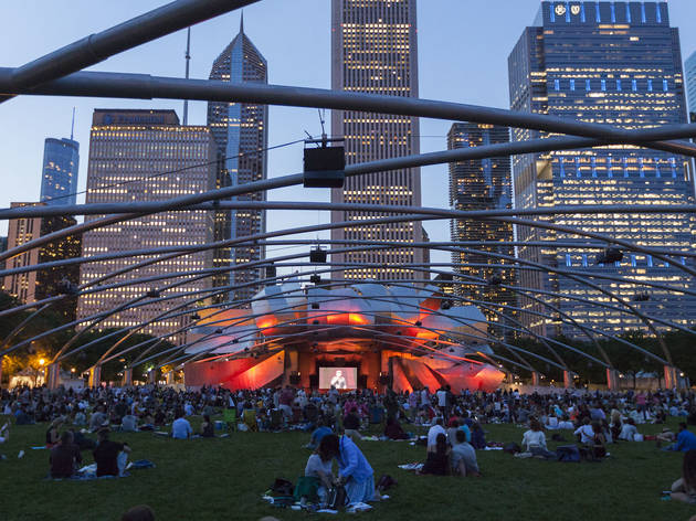 Here's the complete Millennium Park Summer Film Series lineup for 2018