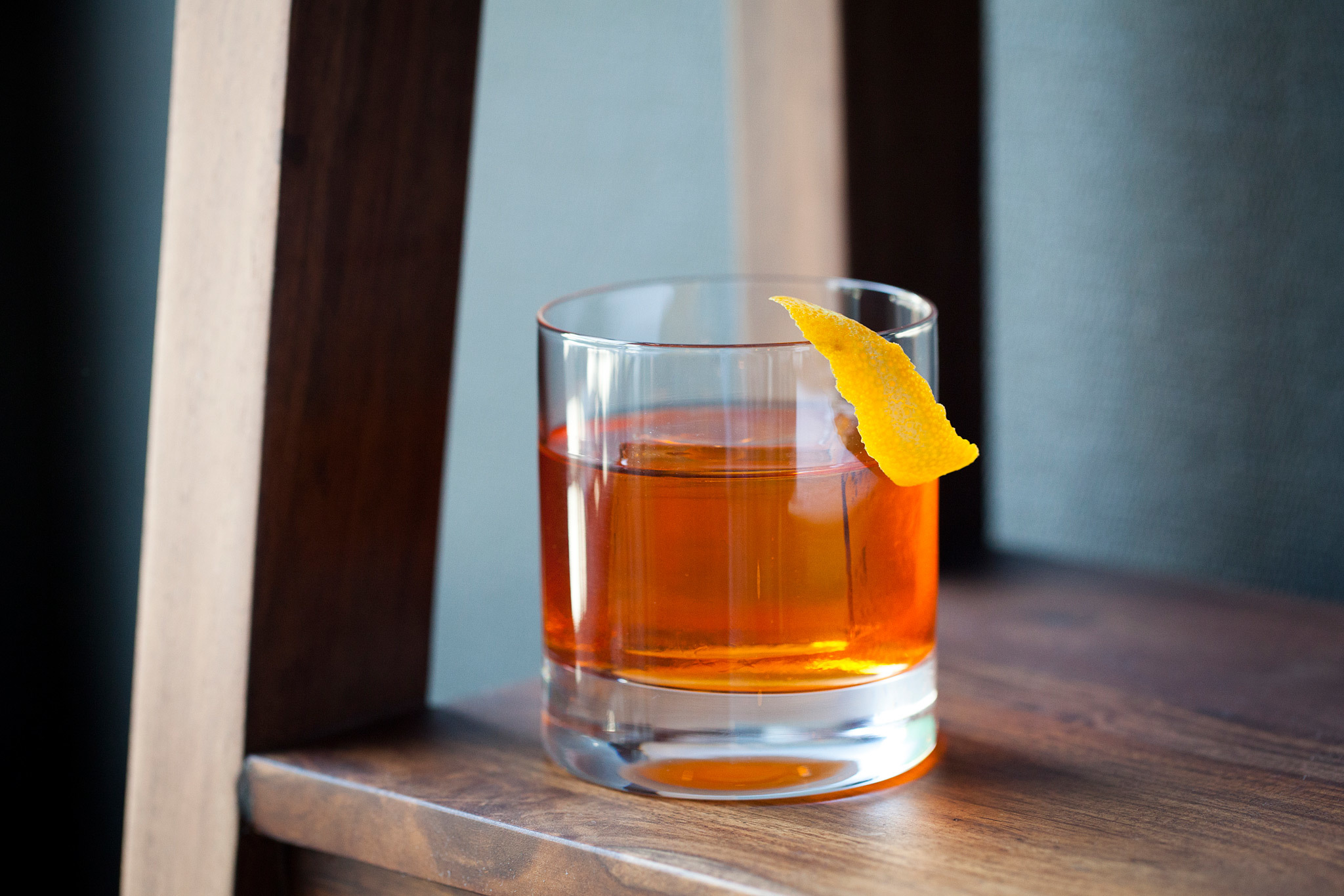 Smokey Negroni at Baldoria