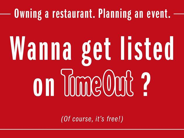 get listed in Time Out Bangkok