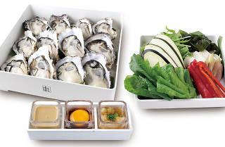 Oyster shabu shabu