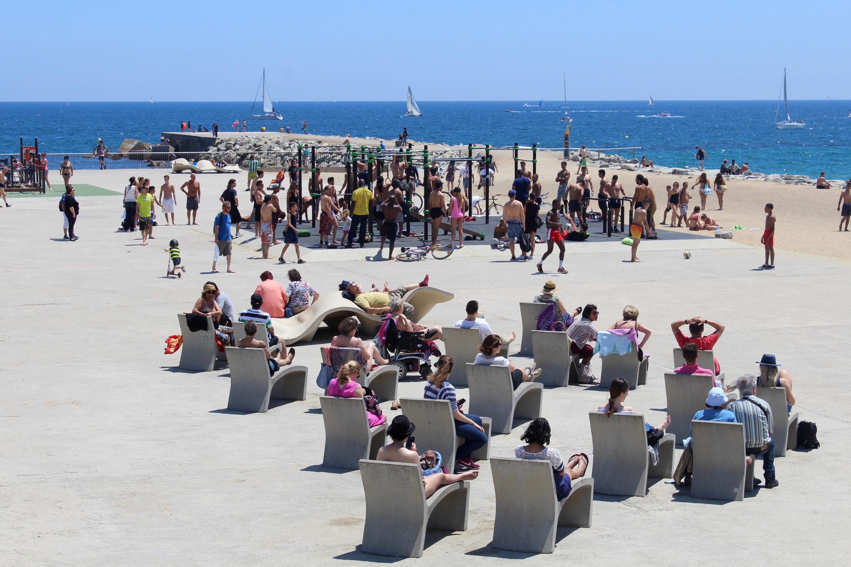 Punts turístics on fer esport a Barcelona