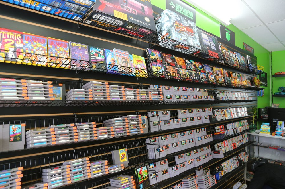 Video game stores