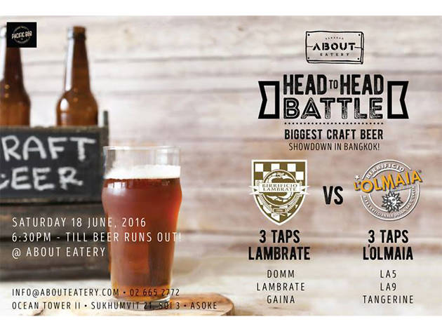Head to Head Battle: Biggest Craftbeer Showdown in Bangkok
