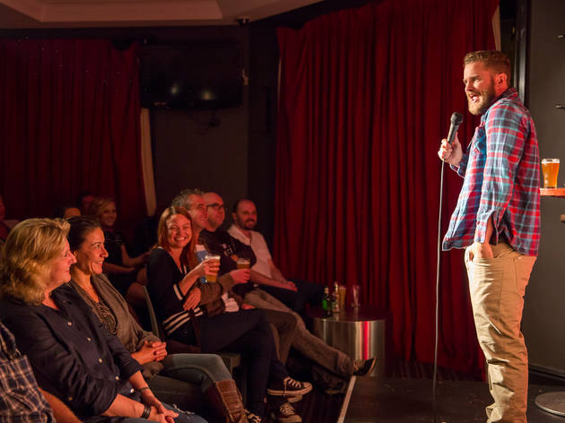 The Laugh Stand at Harold Park Hotel 2015 April 4 image 02 (c) Time Out Sydney photographer credit Anna Kucera