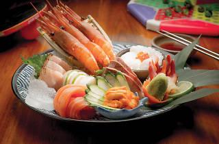 Gakuensai asorted sushi