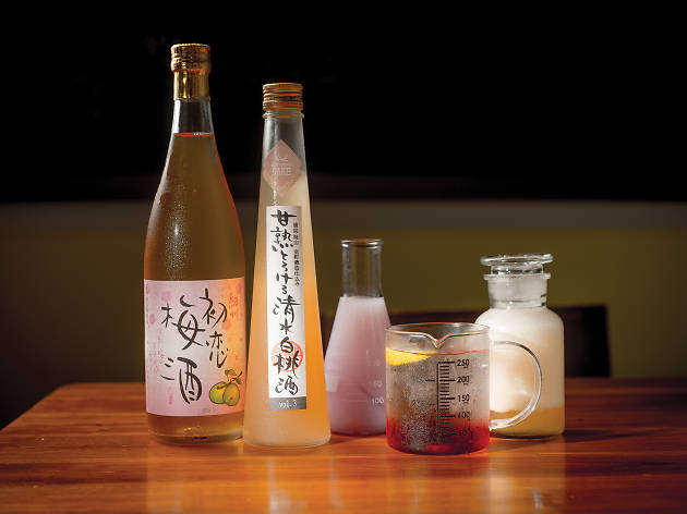 Gakuensai drinks and cocktails